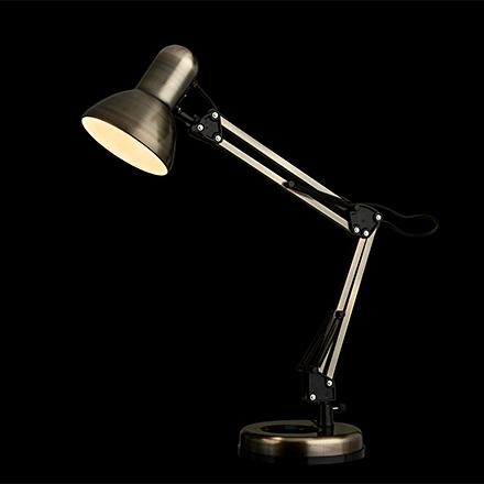 Junior 1: Лампа настольная в офис с гибкой ножкой