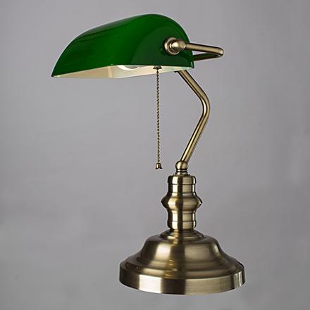 Banker 1: Лампа настольная в офис для письменного стола