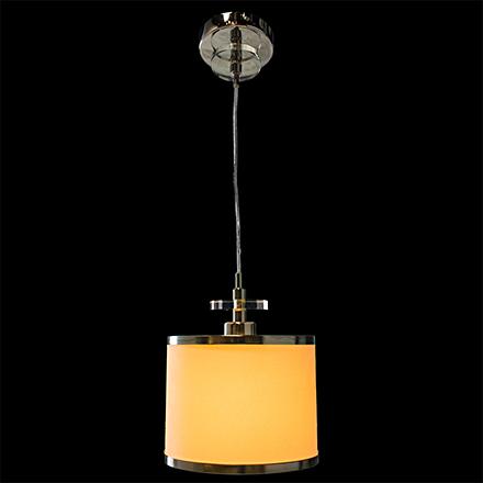 Белый подвесной светильник в стиле неомодерн