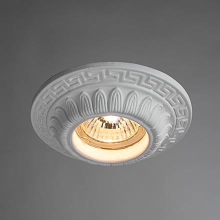 Cratere 1: Гипсовый точечный светильник с меандром
