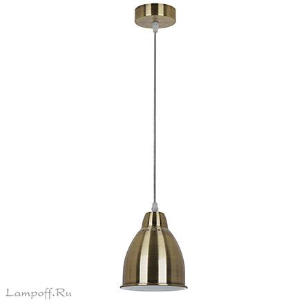 Подвесной светильник (античная бронза)