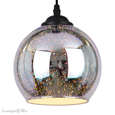 Подвесной светильник шар звездное небо