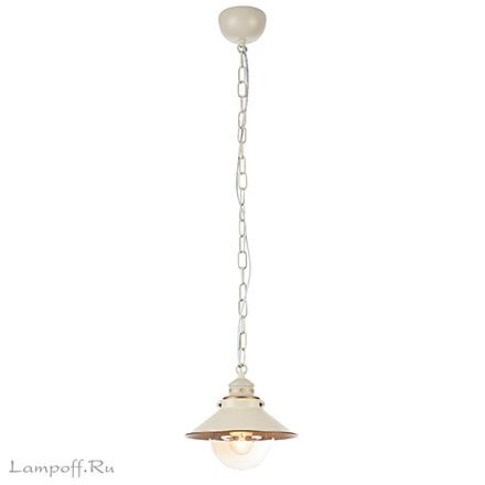 Подвесной светильник (бело-золотой)