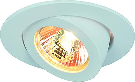 Accento 1: Точечный встраиваемый светильник