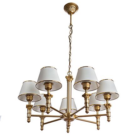 Подвесной светильник цвет матовое золото [Фото №2]