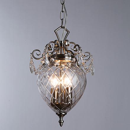 Подвесной светильник (цвет никель)
