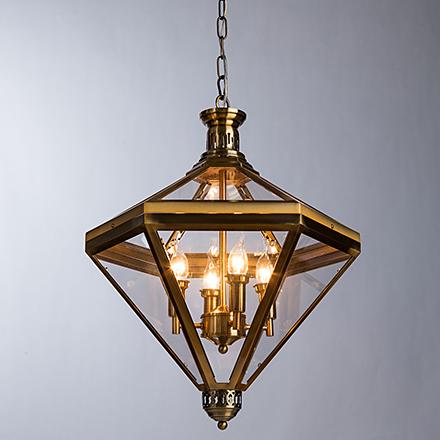 Подвесной светильник (цвет латунь)