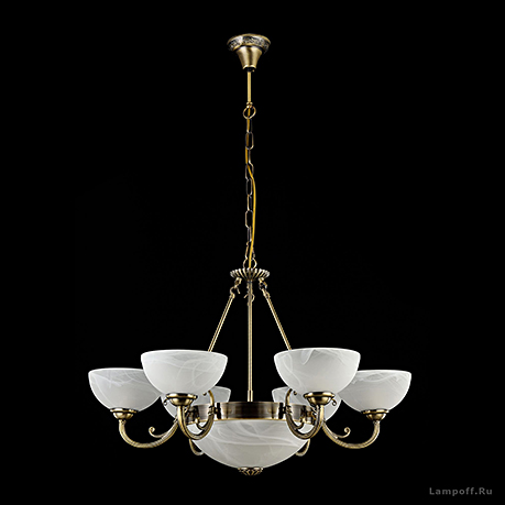 Подвесной светильник цвет бронза [Фото №2]