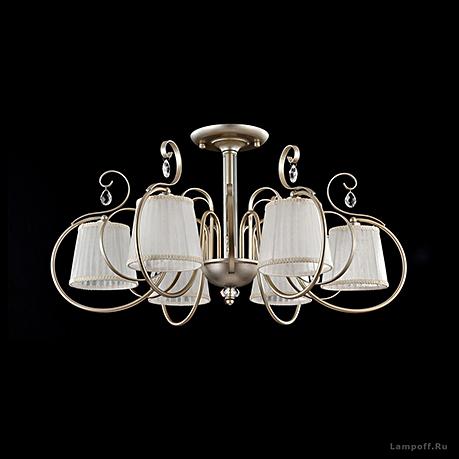 Потолочный светильник цвет латунь [Фото №2]
