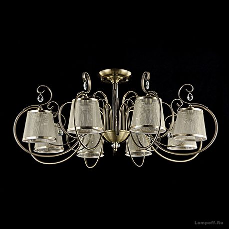 Потолочный светильник цвет бронза [Фото №2]