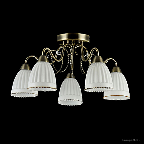 Потолочный светильник стиль неоклассика [Фото №3]