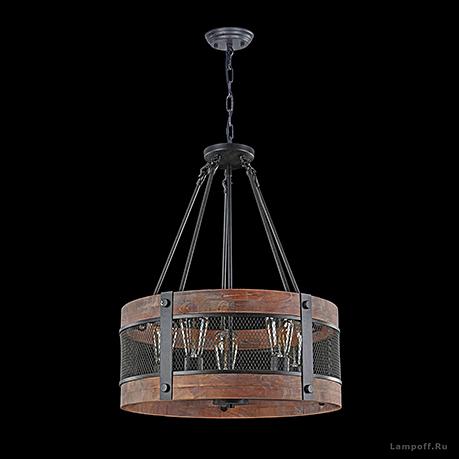 Подвесной светильник стиль лофт, кантри [Фото №3]