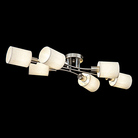 Потолочный светильник цвет никель [Фото №2]