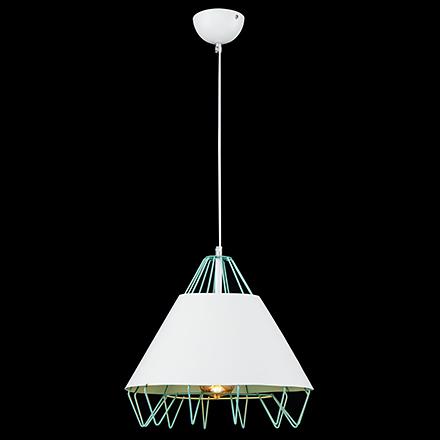 Подвесной светильник цвет зеленый [Фото №2]