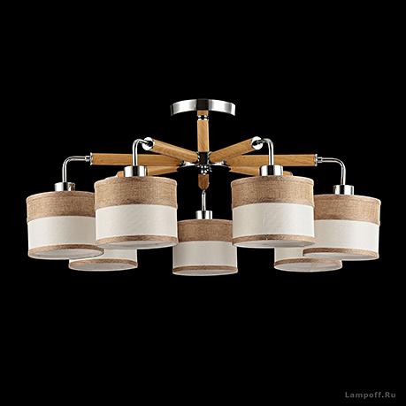 Потолочный светильник цвет хром [Фото №2]