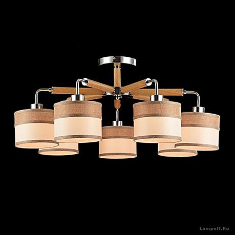 Потолочный светильник стиль модерн, ретро [Фото №3]