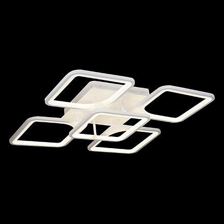 Omega LED: Потолочная светодиодная люстра (белый)