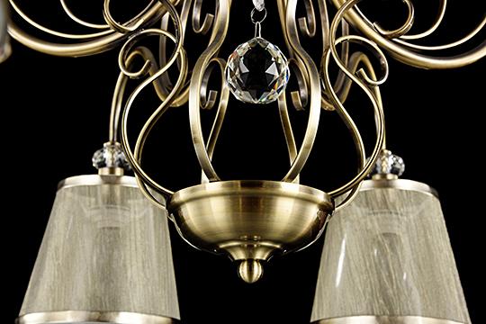 Потолочный светильник FR2405-PL-08-BZ [Фото №5]