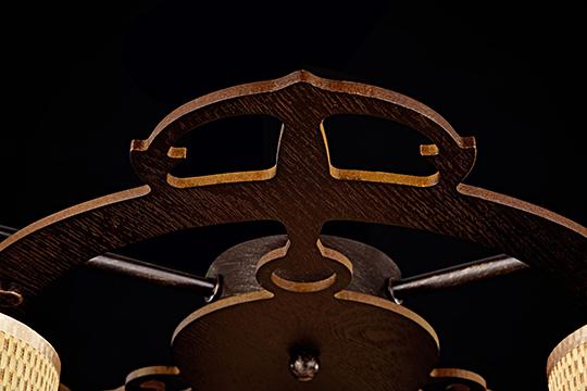 Потолочный светильник FR5100-CL-03-BR [Фото №5]