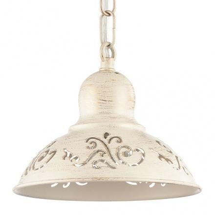 Подвесной светильник (цвет кремовый с золотом)