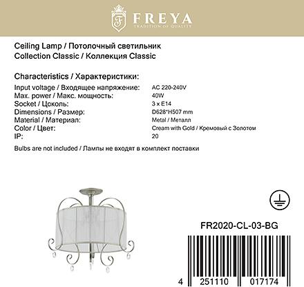 Freya FR2020-CL-03-BG [Фото №9]