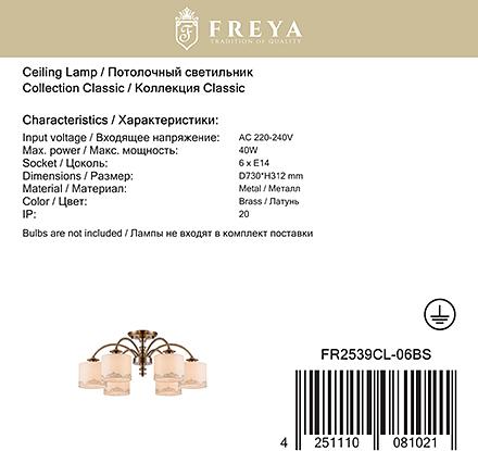 Freya FR2539CL-06BS [Фото №9]