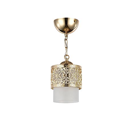 Золотой подвесной светильник в восточном стиле