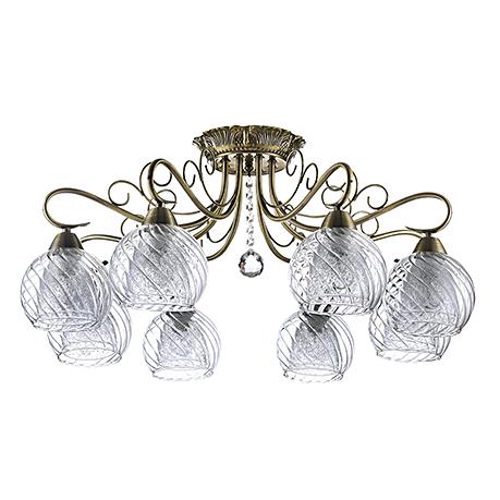 Classic Nella 8: Потолочный светильник (цвет бронза)