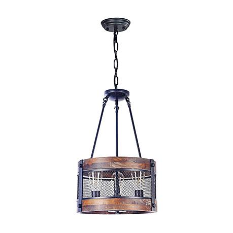 Подвесной светильник - бочка на 3 лампы