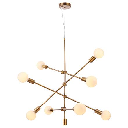 Подвесной светильник (латунь)
