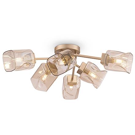Потолочный светильник цвет матовое золото [Фото №2]