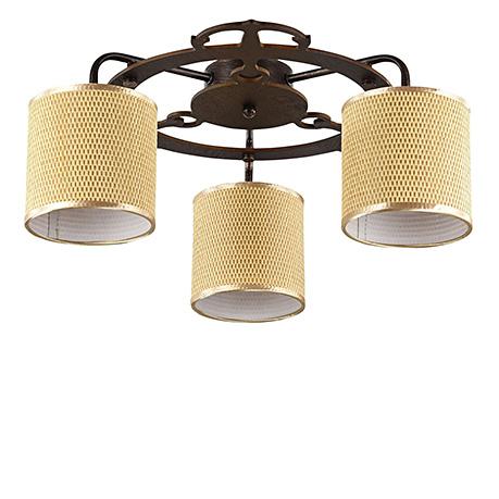 Потолочный светильник (цвет коричневый)