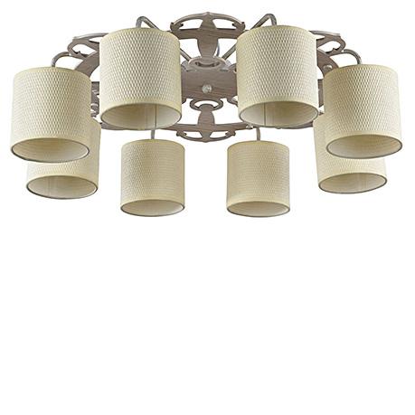 Потолочный светильник с якорями (белый с золотом)