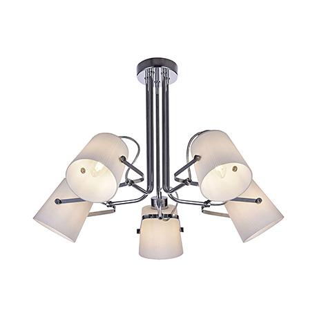 Modern Nonna 5: Потолочный светильник (цвет хром)