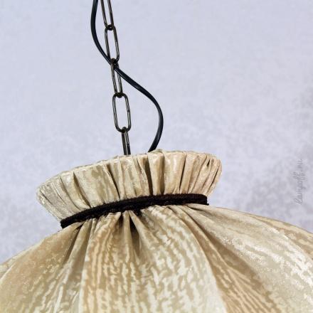 Подвесной абажур стиль ретро, деревенский [Фото №3]