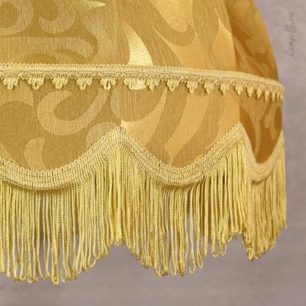 Подвесной абажур цвет золото [Фото №2]
