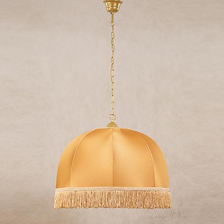 Подвесной абажур цвет бронза [Фото №2]