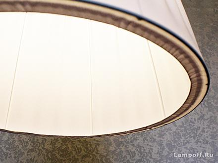 Подвесной абажур цвет белый [Фото №2]