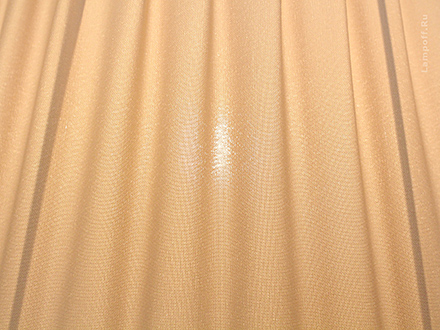 Подвесной абажур цвет бежевый [Фото №2]
