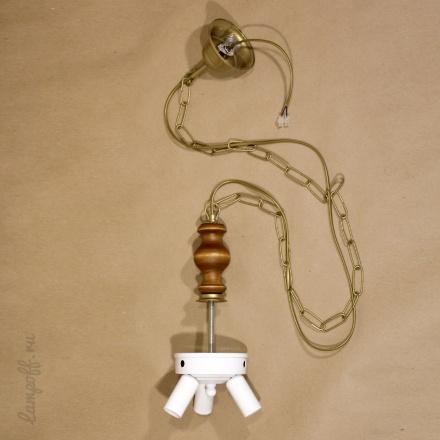 Люстра для абажура на 3 лампы