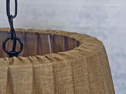 Подвесной абажур стиль классический, лофт [Фото №3]