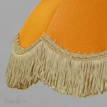 Абажур цвет оранжевый [Фото №2]