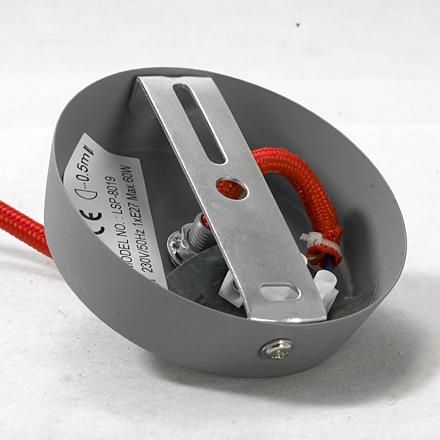 LSP-8019 цвет серый/красный [Фото №2]