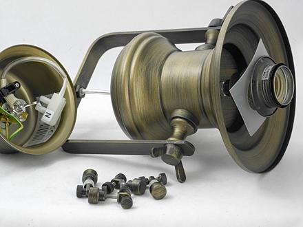 Подвесной светильник цвет бронзовый [Фото №2]
