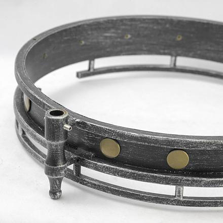 Подвесной светильник цвет серый/черный [Фото №2]