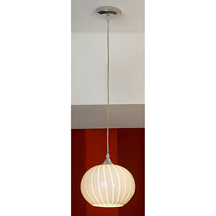 Подвесной светильник (цвет хром, белый)