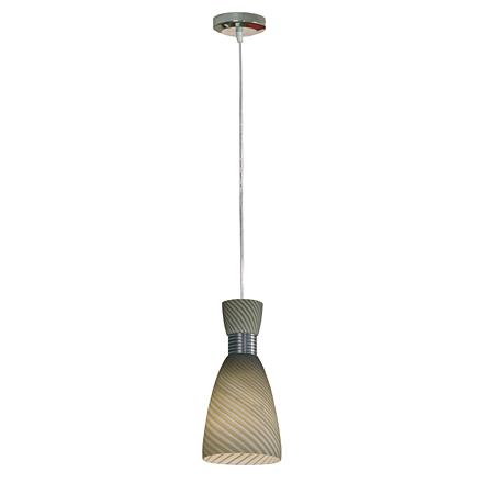 Подвесной светильник (цвет хром, серый)
