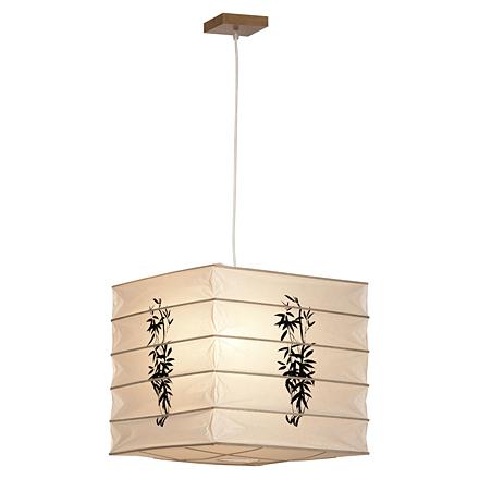 Подвесной светильник (цвет коричневый, белый)