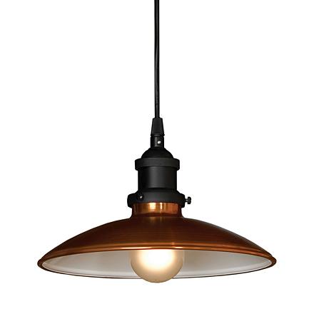 Подвесной светильник (цвет медный, черный)