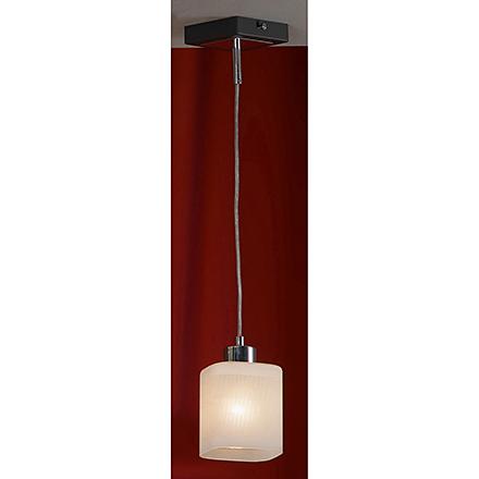 Подвесной светильник (цвет хром, венге, белый)